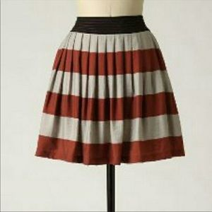 Anthropologie Bengal Stripe Skirt
